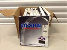 lot of 8 Olson 93 12 saw blades