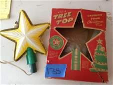 Miller Tree top Christmas tree star