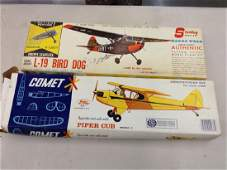 lot of 2 airplane models unbuilt
