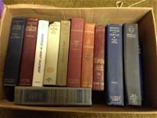 box lot of vintage books