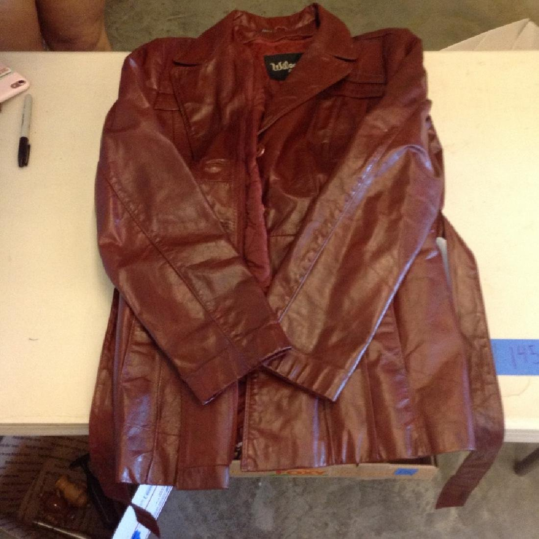 91fba910a31 For Auction: Wilson's size 14 leather jacket (#138) on Aug 05, 2019 |  Emanon Auctions and Estate Sales in NJ