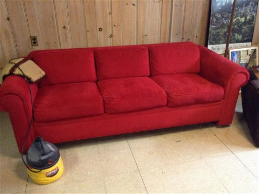 Pleasant 91 Long 1970 Avery Boardman Sofa Red Aug 19 2019 Ocoug Best Dining Table And Chair Ideas Images Ocougorg
