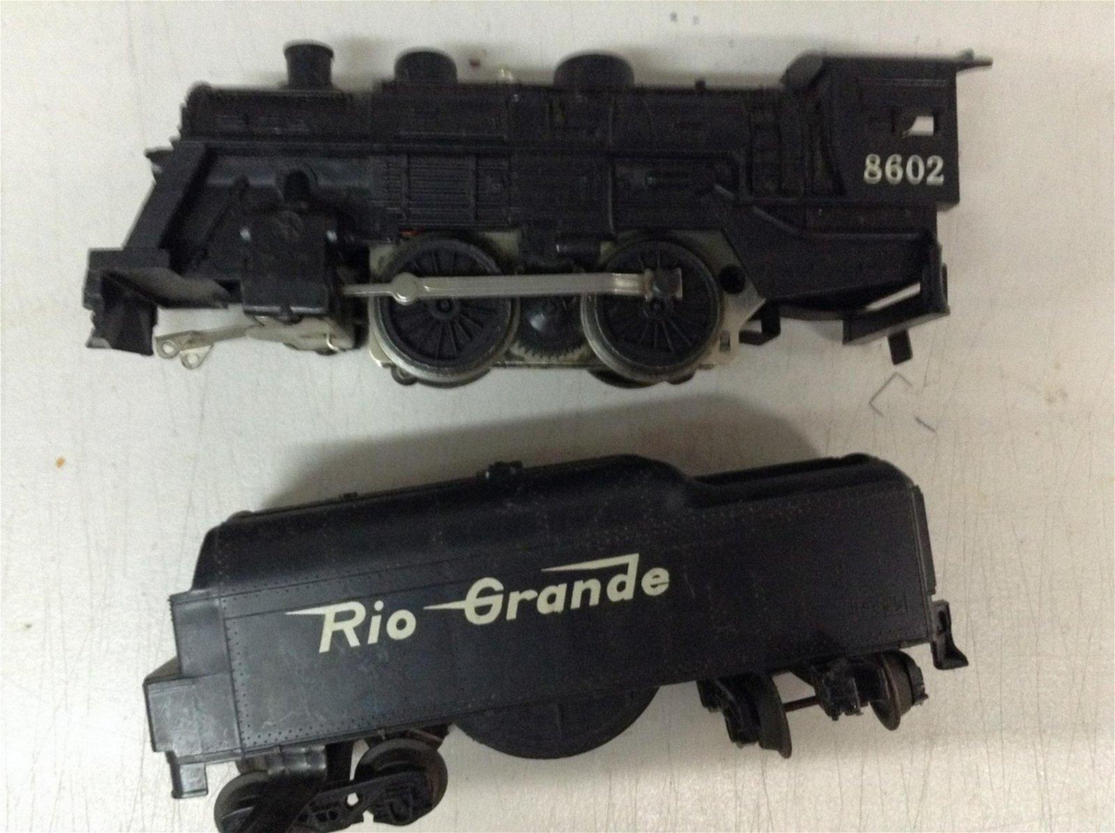 "Lionel ""O"" gauge train engine"