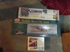 two sealed airplane models