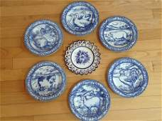 Williams Sonoma Brittany plates and Portugal made