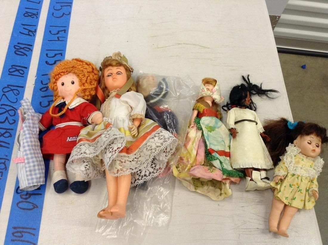 lot of vintage dolls, forgien and more