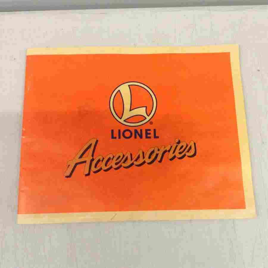 Lionel train accessories book