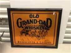 Old GrandDad Whiskey advertisement 22x18