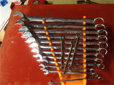 Snap tools 12 point wrench set