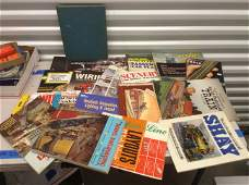 toy train large amount of repair books and more