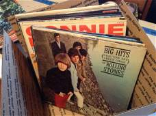 lot of 10 vintage LP record Albums