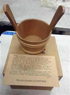 Denmarkmilk bucket Newark museum