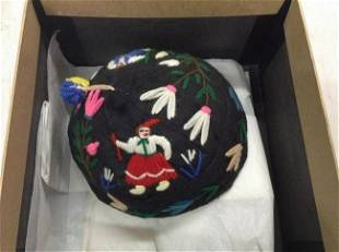Newark Museum Portuguese folk art hat