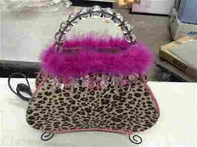 leopard skin pocketbook lamp