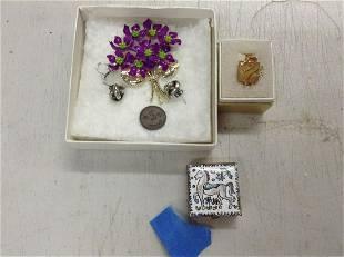 enamel trinket box jewelry and more