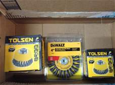 DeWalt and other wire wheels in package