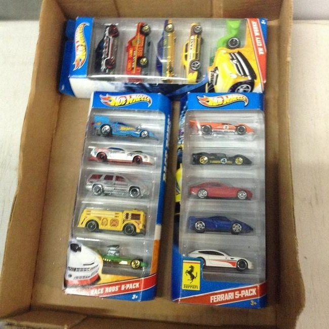 new in package hot wheels lot