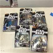 lot of star wars action figures