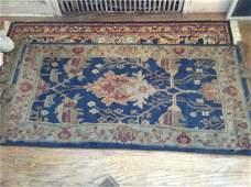 oriental style vintage throw rug 50x22