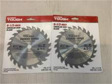 2 Hyper tough circular saw blades