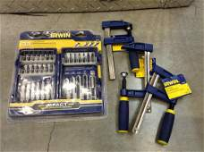 Irwin clamps and more