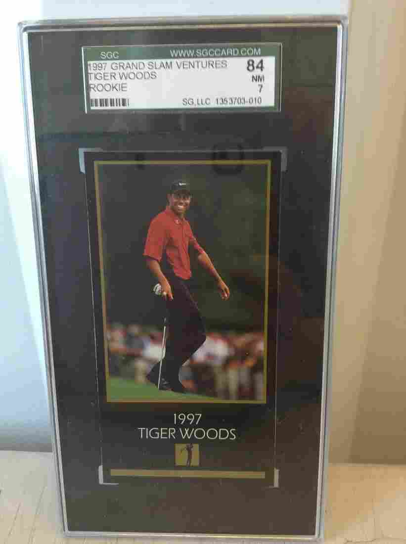 graded tiger woods card