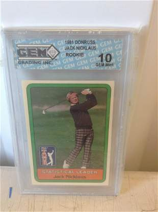 graded jack Nicklaus