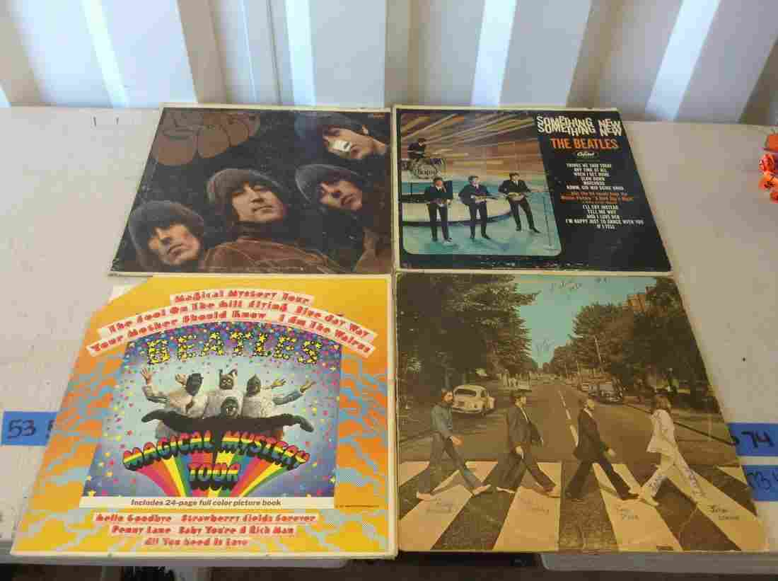 lot of Beatle records
