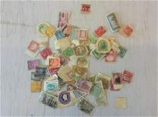 large lot of postage stamps foreign and US stamps