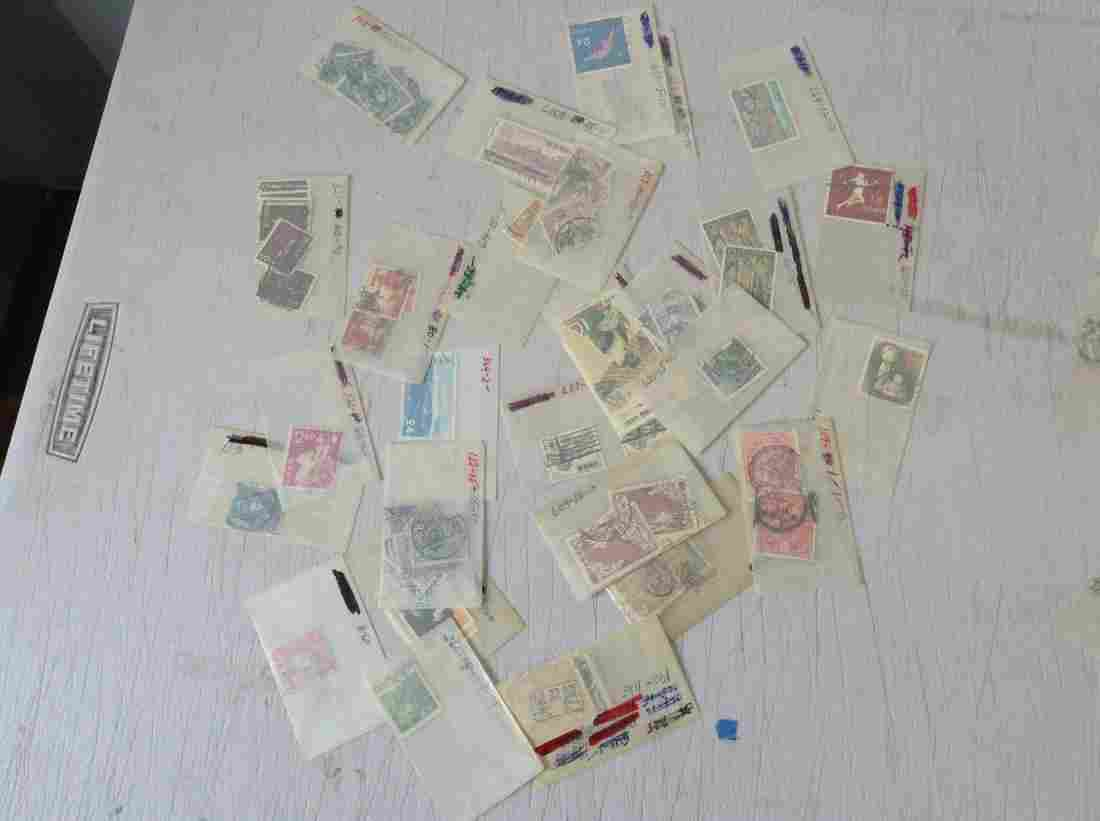 large lot of 1920s and later Japanese Stamps
