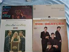 Lot of records including the Beatles