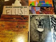 Alice Cooper, Santana, Elvis Costello