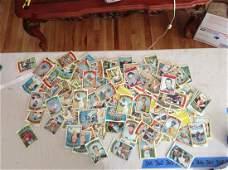 large lot of vintage baseball cards including hank