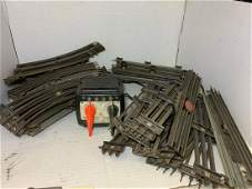 Large Lot of Vintage Train Tracks Transformers and more