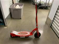 Red Razor Electric Scooter
