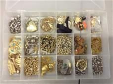 large amount of costume jewelry