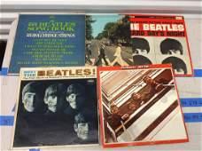 lot of 5 vintage beatles albums