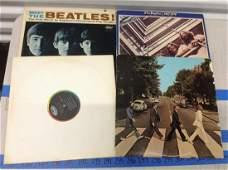 lot of vintage beatle albums