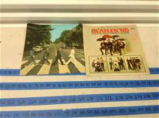 lot of 2 vintage beatle records