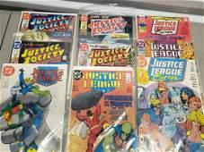 lot of justice leage DC vintage comics