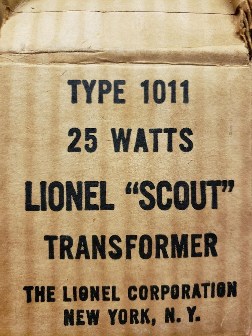 Type 1011 Lionel Scout Transformer