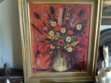 signed oil on board signed pierre mas 25x29