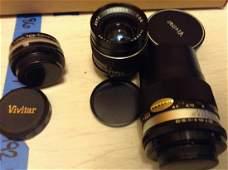 Lot Of Vintage Camera Lenses