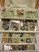 Jewelry Box full of Costumevintage jewelry