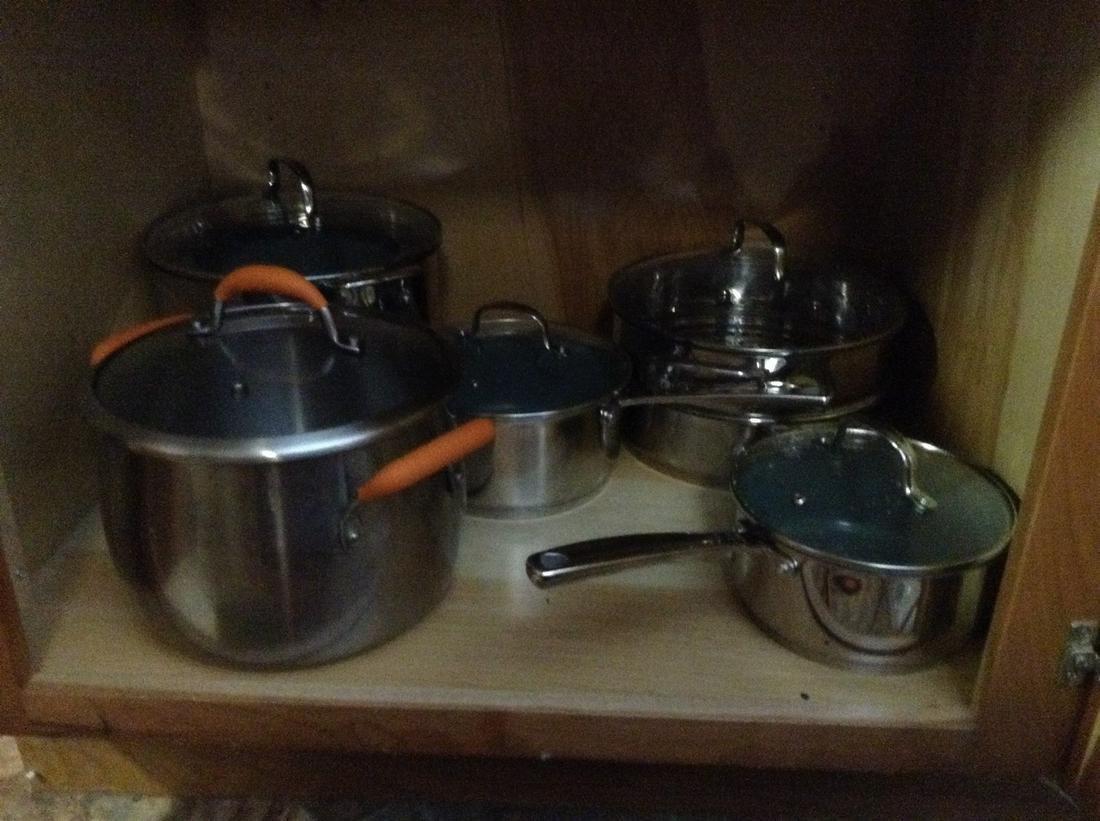 Lot of Pots