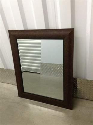 """Framed Mirror 30""""x 36"""""""
