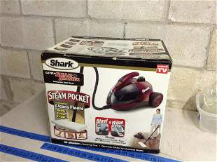 Shark ultra steam blaster with box