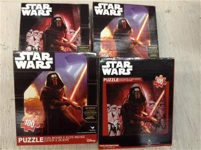 Lot of Star Wars Puzzles