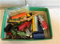 lot of ho train cars and more
