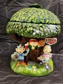 Rare Keebler Collectors cookie jar